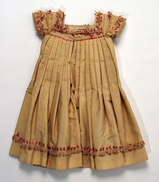 Dress Date: 1860–75 Culture: American Medium: wool