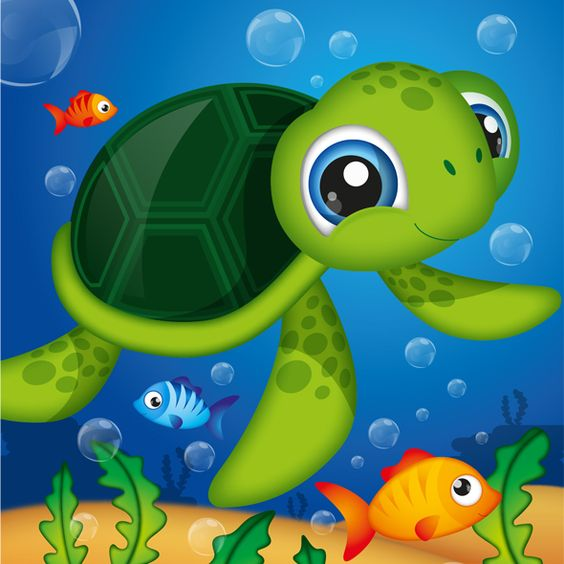 Drawing For Kids Turtle