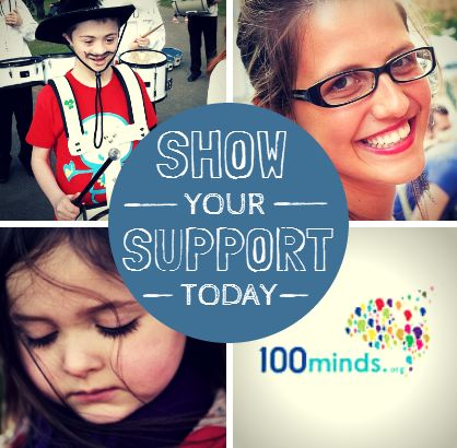 Please check out my fundraising profile and donate if you can: http://www.100minds.org/132