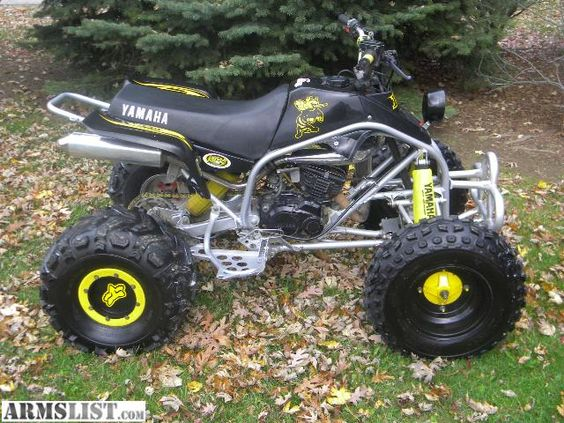 Four wheelers blaster wayne indiana handguns for for Four wheelers yamaha for sale