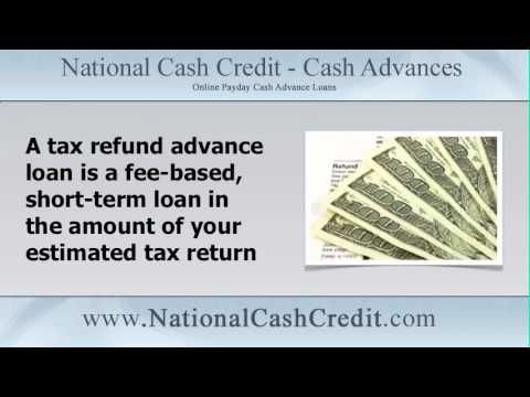 Get Money Today By Applying For A Tax Refund Advance Loan Http