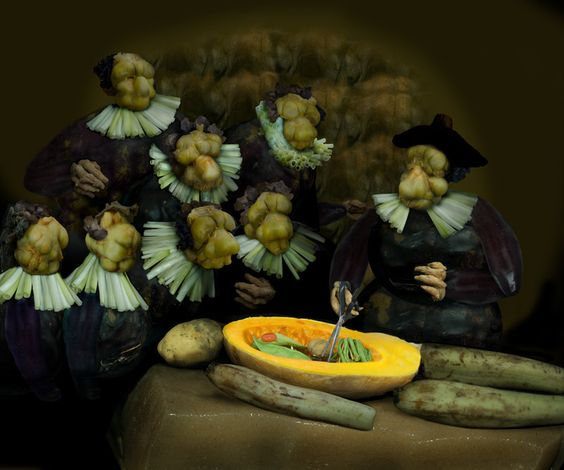The anatomy lesson of Dr Pickled Cabbage