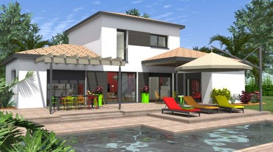 Maison L 127 Maison Contemporaine Plan Maison Architecte Maison Architecte