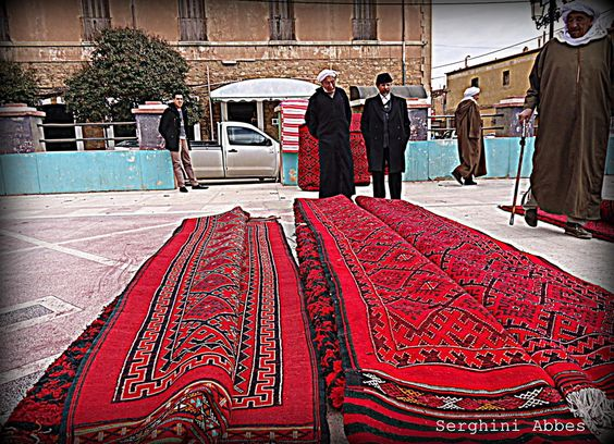 Photo Carpet par Serghini Abbes on 500px algeria aflou tapis algerie carpet art red black people