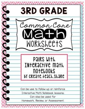 common core math worksheets 3rd grade math worksheets common core math and common cores. Black Bedroom Furniture Sets. Home Design Ideas