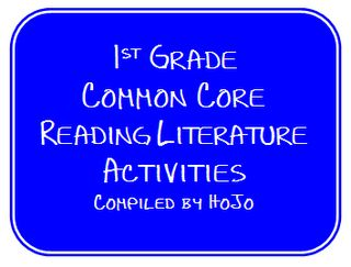 FREE Compiled list of 1st Grade Common Core Reading Literature Ideas & Activities