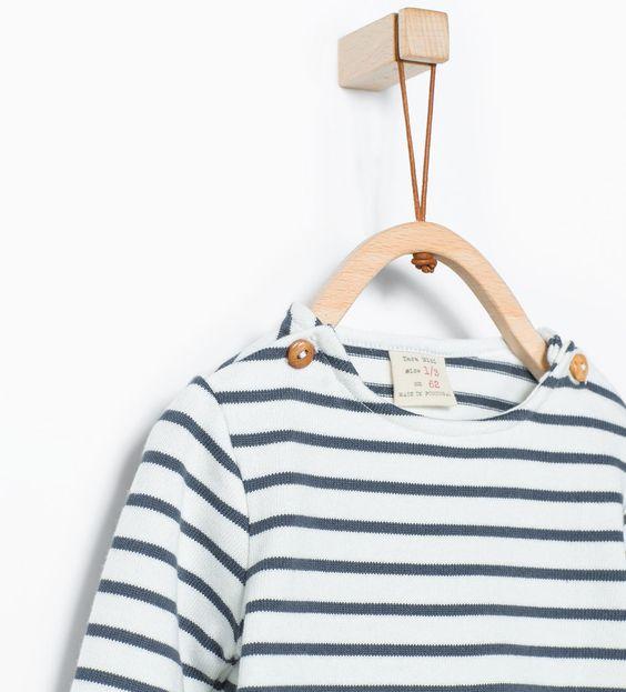 Streifenshirt aus Bio-Baumwolle-Kollektion-Mini-KOLLEKTION AW15 | ZARA Deutschland