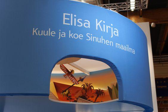 Elisa Exhibition stand by BOND , via Behance