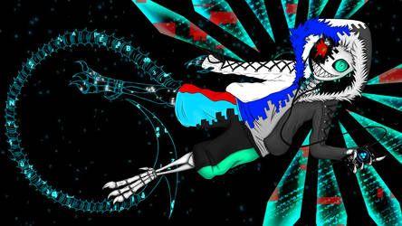 Undervirus Megalovania Xans Theme By Jeyawue Undertale Fanart Character Art Anime