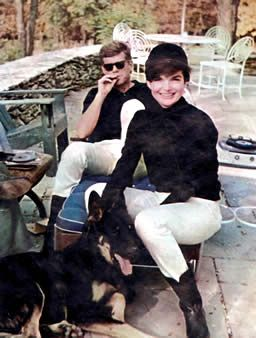 Jackie Kennedy in the Virginia Hunt Country: