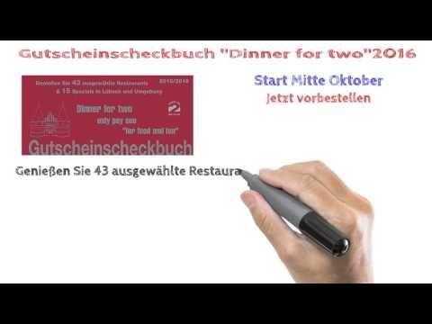 Gutscheinscheckbuch Lübeck 2015/2016 jetzt vorbestellen - YouTube
