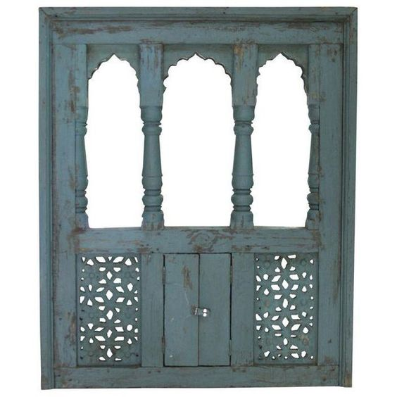 Aqua Haveli Window Mirror ($865) ❤ liked on Polyvore featuring home, home decor, mirrors, decor, flower mirror, aqua home accessories, arched mirror, aqua home decor and flower centerpieces
