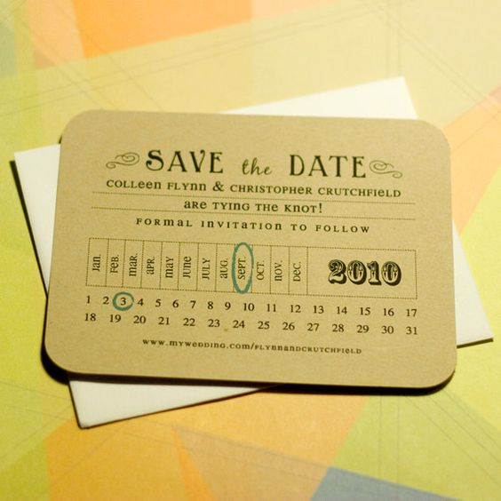 Save the date etiquette in Melbourne