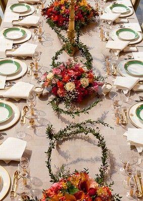 "Nobel Prize dinner Stockholm. Floral by Gunnar Kaj - ""Tusen och en ros"""