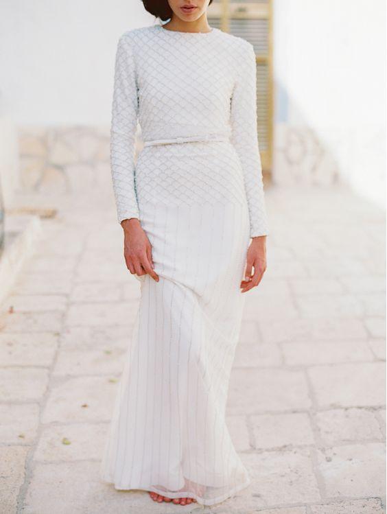 Santos Costura wedding gown | Bridal Shoot Inspired by Italian Architecture