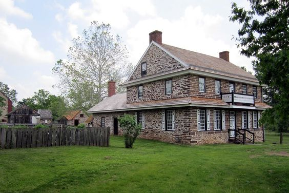 Peter Wentz House Worcester Pennsylvania | Peter Wentz Farm House in Worcester Twp, Montgomery County, PA: