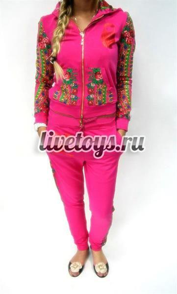 Спортивные костюмы с изображением цветов