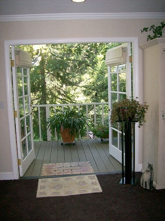 French Doors To Deck Google Search Ideas Pinterest