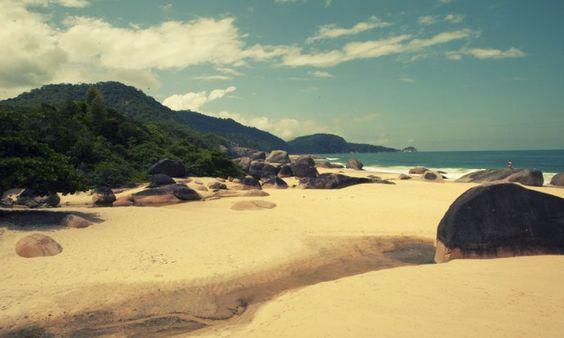 Beach at Trindade