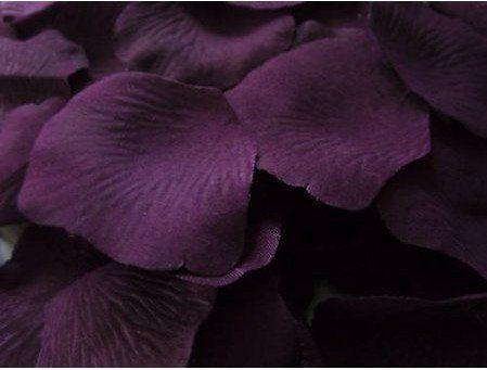 1000 Silk Rose Petals Lapis Deep Purple Area Rugs Decor