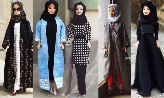 Meet Hijarbie, The Popular Doll Wearing Muslim Fashion