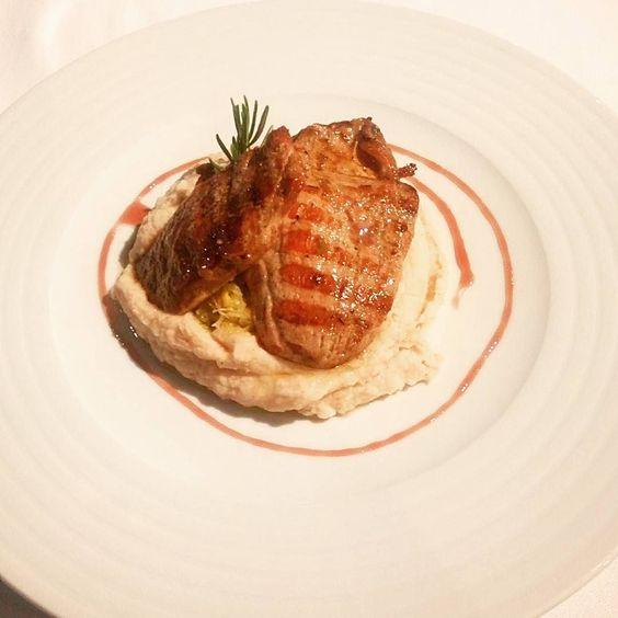 #pork #tenderloin with #truffle #beans #Portugal #douro #travel by chrisjp1234