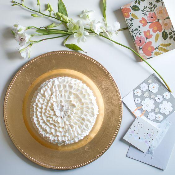 bridal shower cake cards