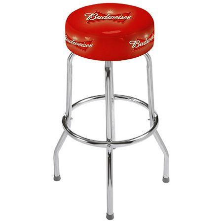 light beer bud light ab bud stool ab cave stuff swivel bar stools shop. Black Bedroom Furniture Sets. Home Design Ideas