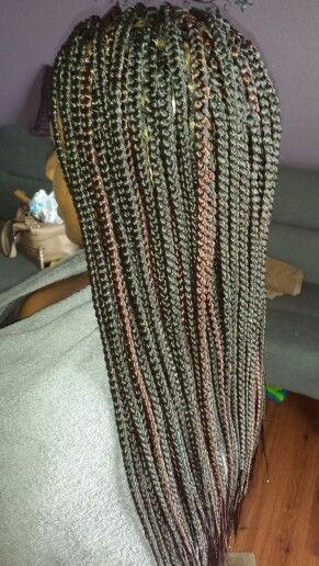 1b 33 Braids Box braids, braids and boxes on pinterest