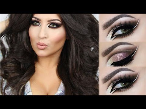 In love with this look!!! Omg ❤❤♡ Dramatic Cut Crease Makeup Tutorial! ♡ (English) - YouTube