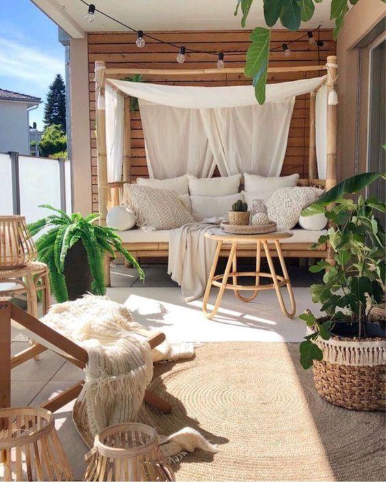 een buitenkleed voor de vloer van je balkon