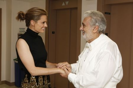 "#StanaKatic & Placido Domingo at L.A. Opera's ""Carmen"" opening night (2013)"