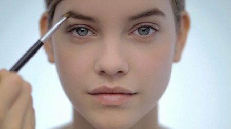 Barbi Palvin...love her simple makeup.