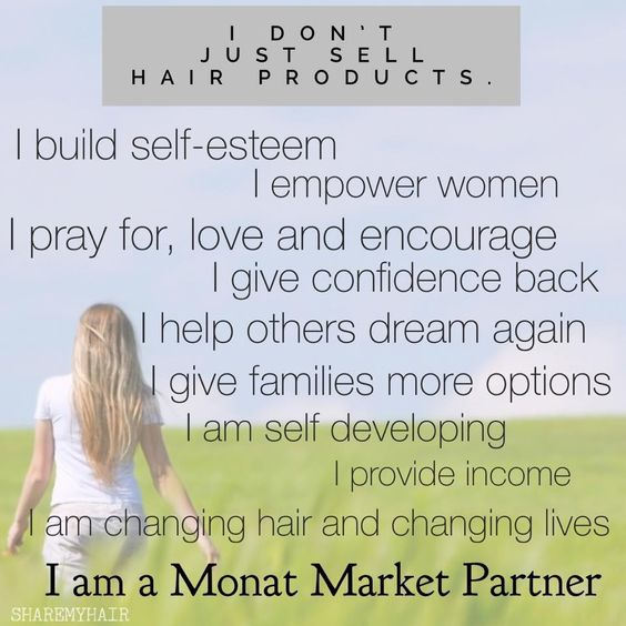#Monat isn't just a #hair #product! It is an #antiaging, #detoxing, #naturally #enriched product that #quenches and #nourishes your #hair down to the #root and #tips building #new #growth and #renewing older growth. Join me today in helping others build their #selfesteem, #love, #empower, and #grow themselves into a better #future. Become a Monat #MarketPartner #today! jredd.mymonat.com