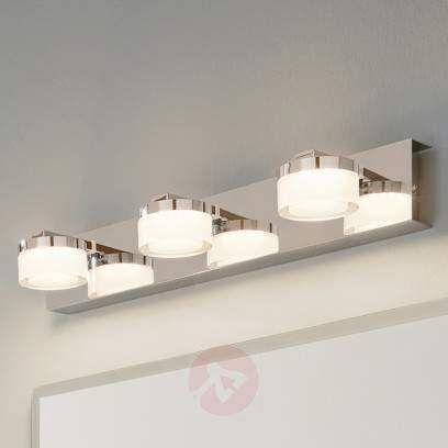 Glanzende Led Spiegelleuchte Yaren Kaufen Lampenwelt De In 2020 Badezimmerspiegel Beleuchtung Beleuchteter Spiegel Led
