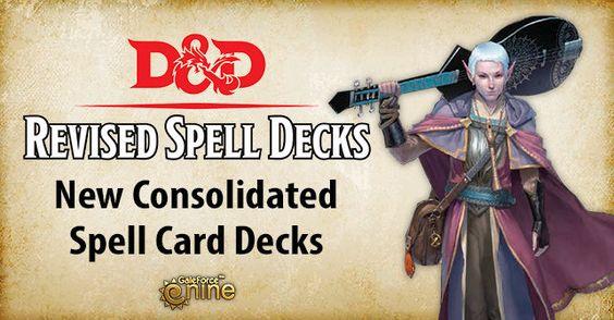 D&D Revised Spell Decks