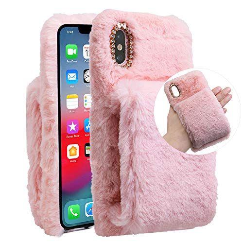 coque iphone 7 plus fourrure