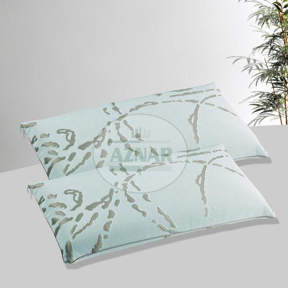 La almohada visco Adapt le aportará un correcto descanso cervical y una completa ventilación