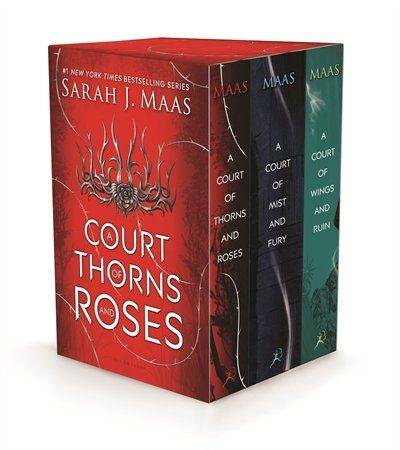 A Court Of Thorns And Roses Box Set Lost In A Book In 2019