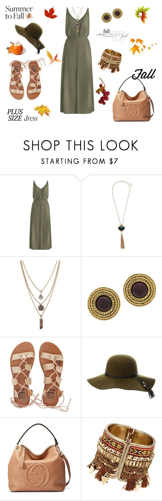 """""""Day to night dress"""" by aniri310 ❤ liked on Polyvore featuring Zimmermann, Erica Lyons, Forever 21, Chanel, Billabong, Charlotte Russe and Gucci"""