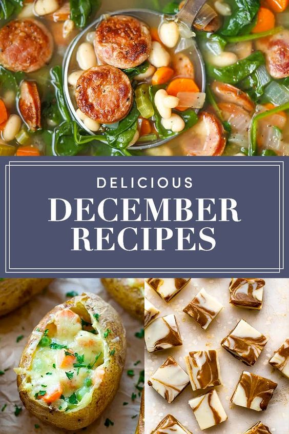 27 (Really Good) Recipes To Make In December