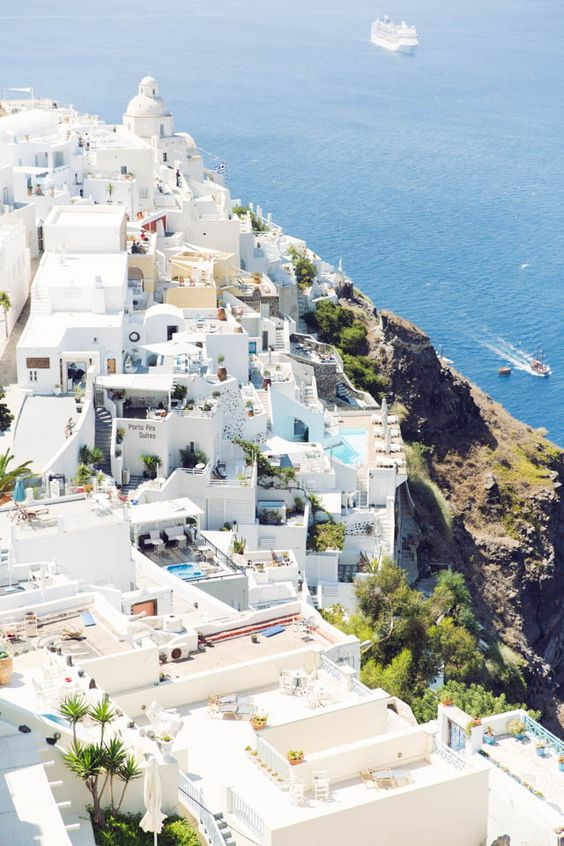 Fira, Santorini | Travel Photography by Annawithlove