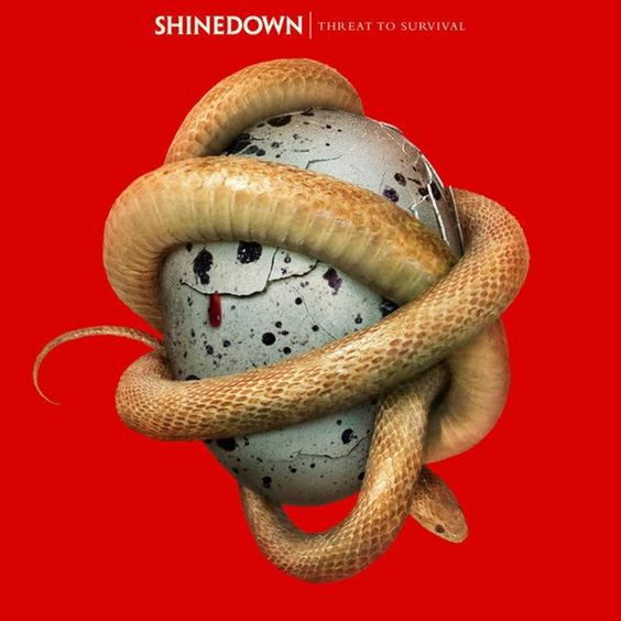 Shinedown Threat To Survival on LP + CD Shinedown have built their name on rock songs both brutal in power and epic in scope. Now, with their latest album, the group (Brent Smith, Barry Kerch, Eric Ba