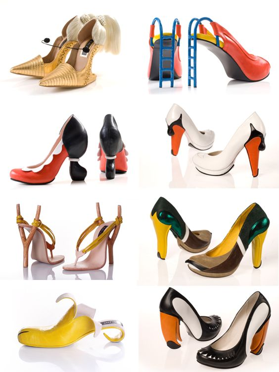 8 x bizarre pumps > Schoenen | Schoenentrends, hippe schoenen, schoenenmerken - Accessoires - Styletoday