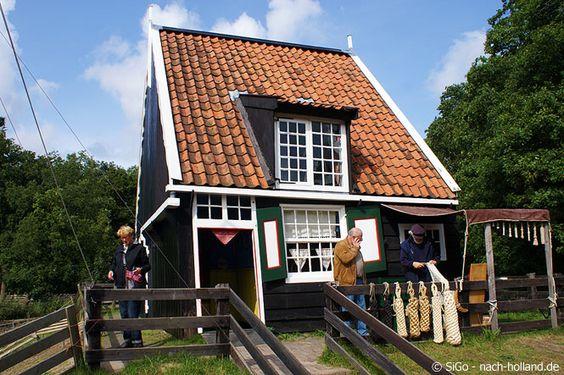 Fischerhäuschen im Nederlands Openluchtmuseum - Freilichtmuseum in #Arnhem  #niederlande #holland #netherlands