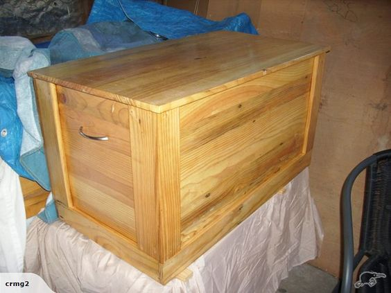 Trade And More Blanket Box Pine Bedroom Furniture Blankets Furniture