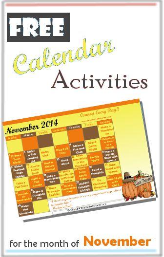 November Calendar Ideas : Pinterest the world s catalog of ideas
