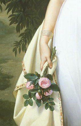 Portrait Of Félicité-Louise-Julie-Constance De Durfort, Maréchale De Beurnonville/ Detail: