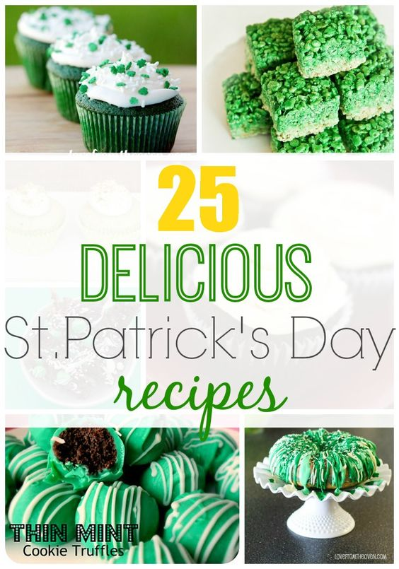 Give these Saint Patrick's Day Recipes a try!