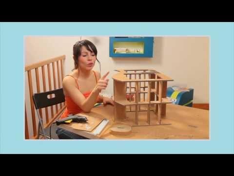 Meubles En Carton Chapitre N 15 Assembler Et Coller Le Squelette Du Meuble Etape 3 3 Youtube Mobilier En Carton Meuble En Carton Carton